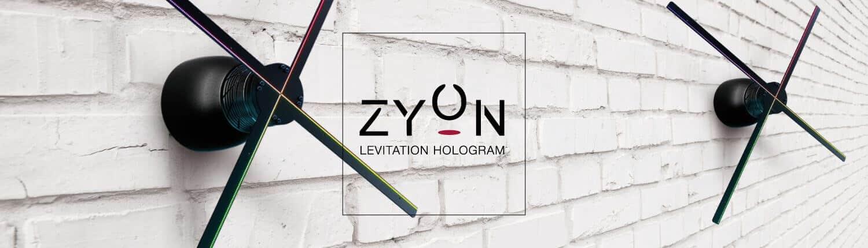 Zyon - Hologramme en lévitation