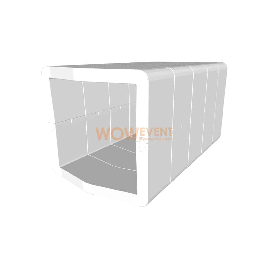 Banquette U-Cube blanc | COPENHAGUE