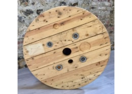 Table basse Touret de chantier en bois | CARDIFF